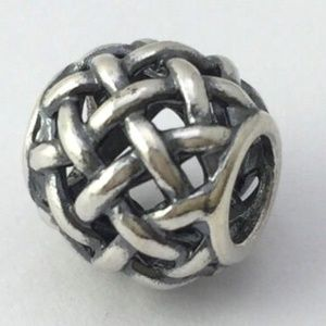 PANDORA Sterling Silver Forever Entwined Bead